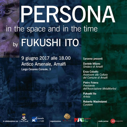 Persona. In the space e in the time